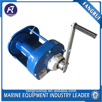 High Tenacity marine double drum hand tractor winch
