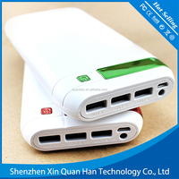 2016 manufacture for latest design 20000mah power bank 3 USB charging power mobile phone charger power bank