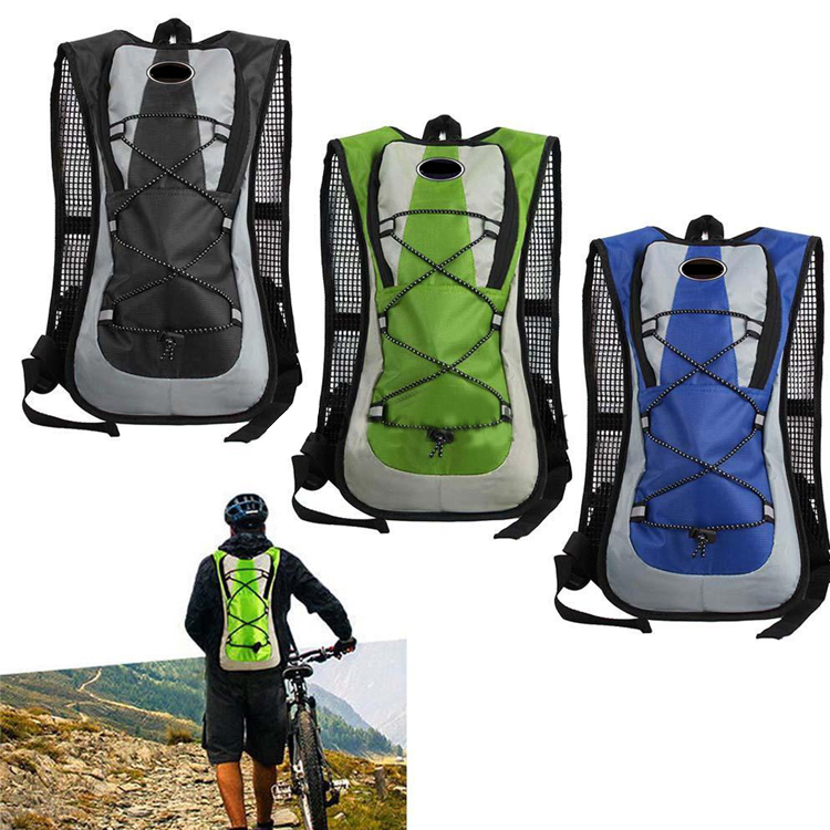 Custom logo outdoor water drinking hydration backpack bladder