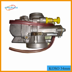 OEM Quality koso 34mm motorcycle carburator With Power Jet