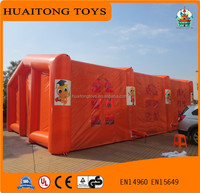 Hot selling outdoor inflatable promotion tent/commercial use inflatable interactive sports game
