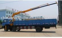 5 Tons Dongfeng off-road truck crane