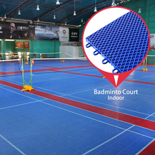 Wholesale price sport mat material outdoor synthetic badminton court flooring