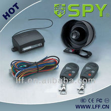 Basic one way car alarm system with built-in shock sensor