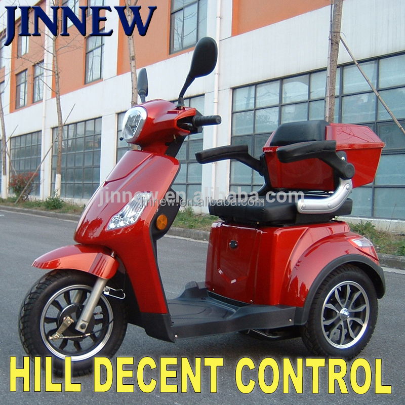 48V 500W Made in china electric mobility scooter handicapped tricycle for sale