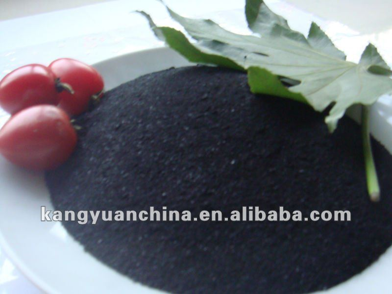 Fulvic acid organic fertilizer Super potassium humate 100% water soluble