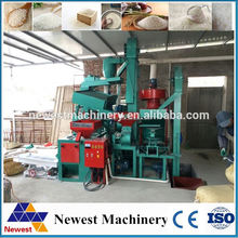 Cheapest series of 6nf rice mill with blowing wind/rice mill machine