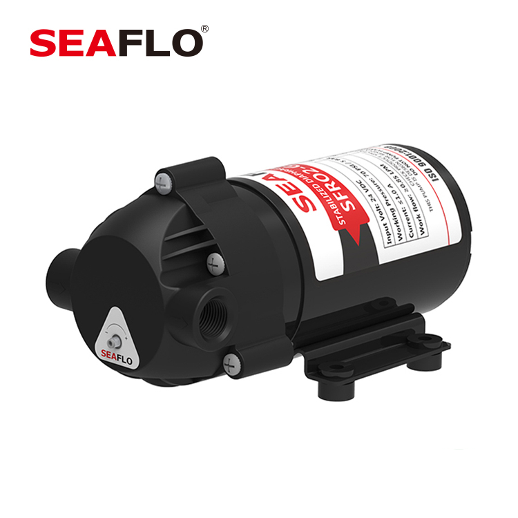 SEAFLO 24V DC 400 GPD 130 PSI RO High Pressure Booster <strong>Pump</strong>