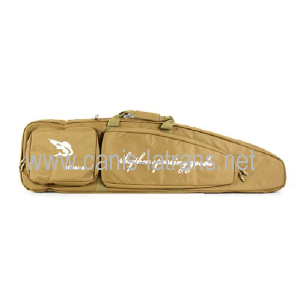 CL12-0008tan OEM military airsoft Tactical [paintball pistol rifle gun case drag bag for police