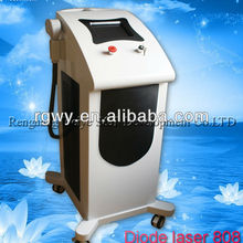 Pain-free comfortable feeling hair removal machine 808 laser diode