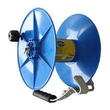 Plastic steel automatic cable reel