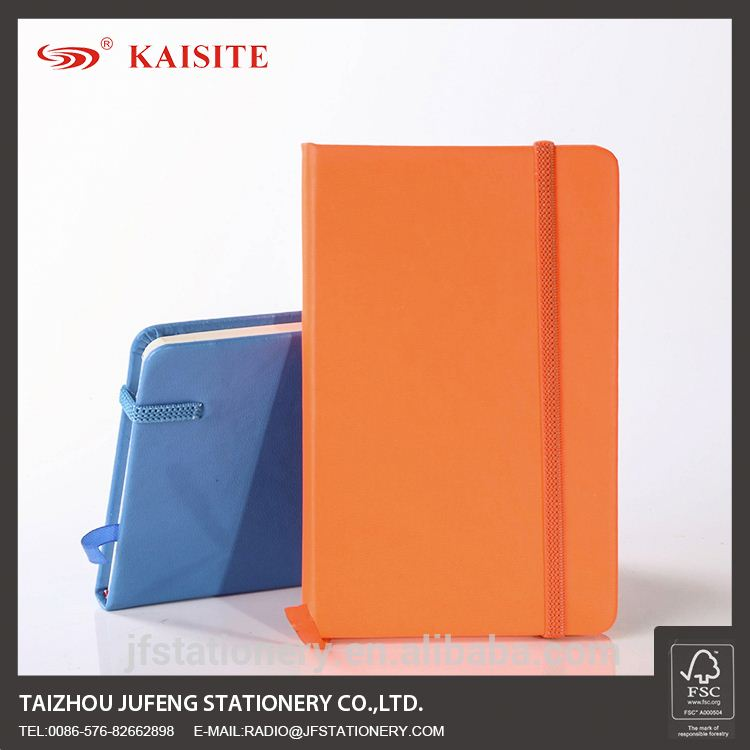 A6 PU notebook with elastic band new stocklot products