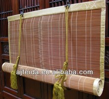 The ancient Japanese Split Bamboo Screen Sun Protection Window Sun Shade