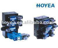 Single pump single proportional valve assembly