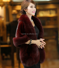 PC-31New Style Mink Fur Shawl Women Winter Real Mink Fur Cape and Stole