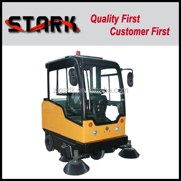 98B ride on roller brushes cordless sweeper forklift mounted sweeper street sweeper