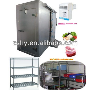 small walk in cold room cooler for restaurant kitchen use