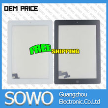 factory price replacement For Apple iPad 2 Touch Screen color Black and White