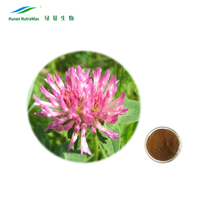 100% Natural Organic Red Clover Extract Powder Isoflavones 8%, 20%, 40% PAH<50ppb