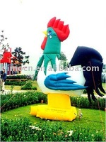 Big cock Inflatable Cartoons for advertising