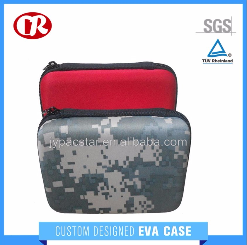 Inside with mesh pocket custom color EVA zipper equipment case