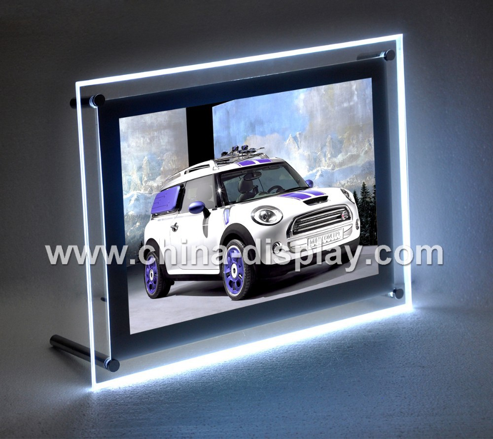 Hot Sales Custom Car Logos Led Display Light Box Signs For Advertising