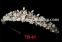 2012 fashion real diamond crowns and tiaras