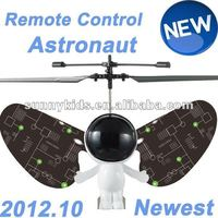 RC Astronaut helicopter 2012 newest plush toys