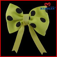 Lovely 2014 New Design Dog Hair Bow Clip For Decoration