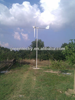 2000W horizontal wind turbine wind power generator