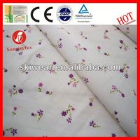 Various antibacterial 65 polyester 35 cotton interlock fabric supplier