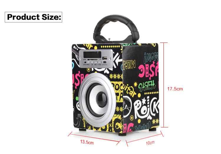 Portable Bluetooth Speaker KBQ-02