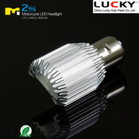 2015 China Lucky New Design Play&Plug 6500K Hi/Lo COB LED Motorcycle LED Driving Lights