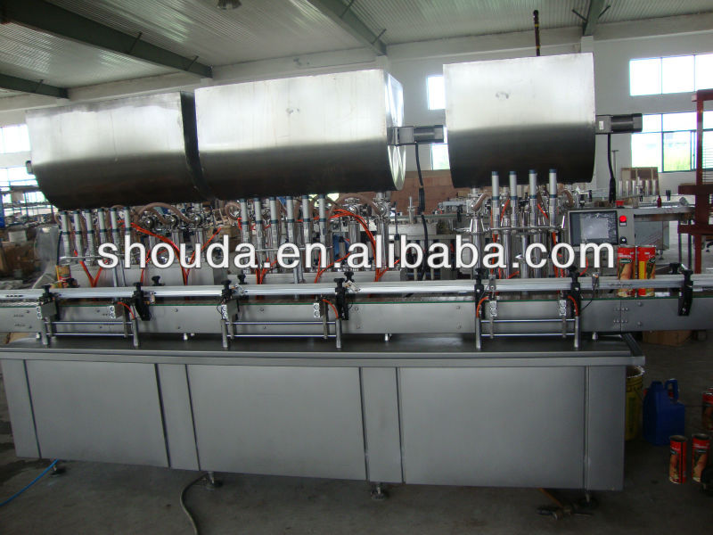 factory price olive oil bottle automatic filling line