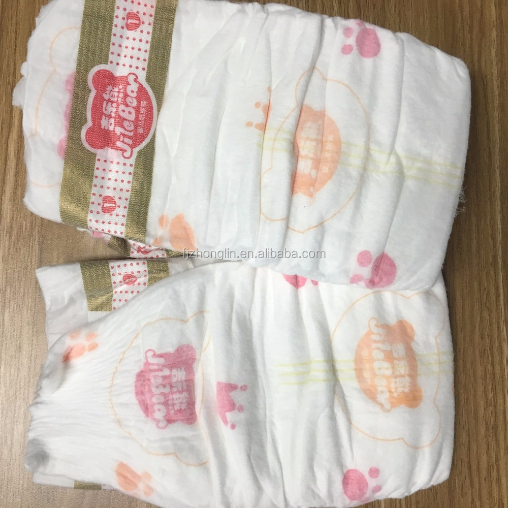 full surround elastic waist band & high absorbency breathable baby diaper with factory price