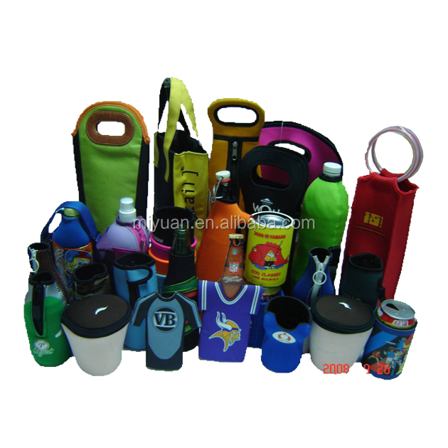 High end insulated cheap hot sale promotional neoprene beer water bottle holder cooler sleeve cover