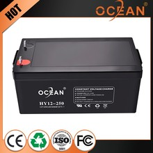 12V 250ah new products high capacity extraordinary solar energy storage battery