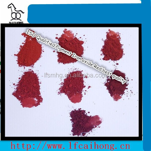 ISO Qualified Pigment Iron oxide Red best quality