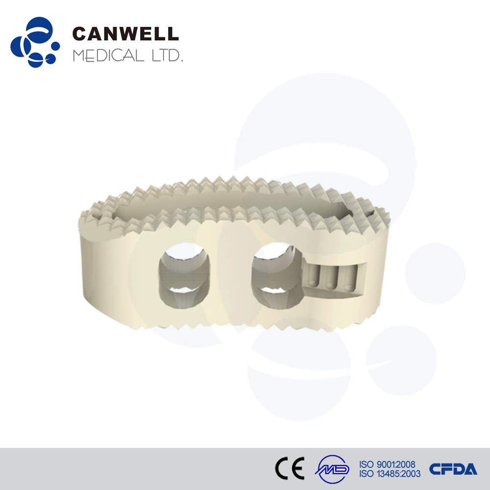 Canwell PEEK Cage TLIF Orthopedic Spine Interbody Fusion Bone Graft Implant Osstem