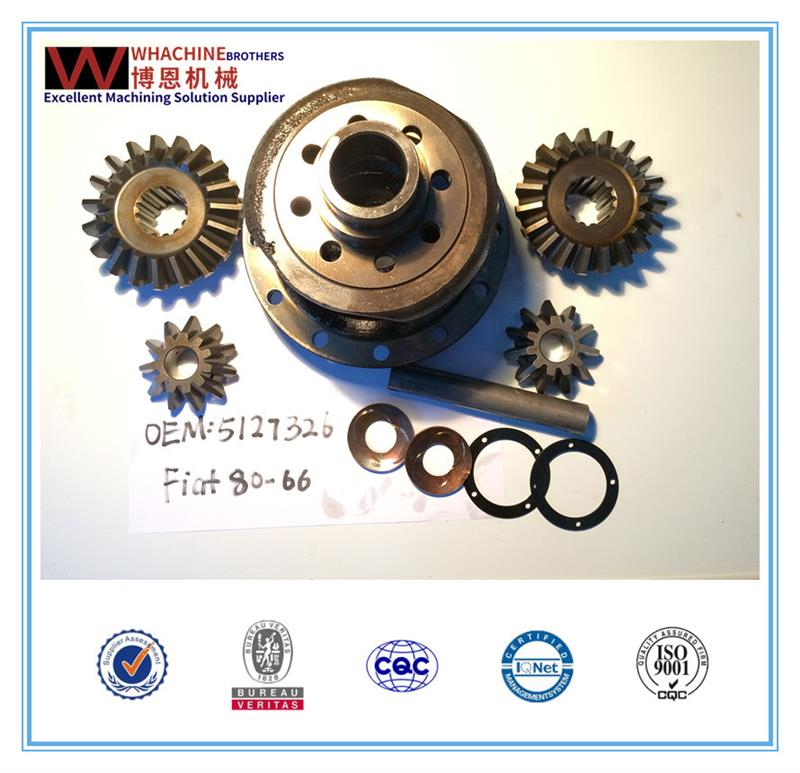 Customized spare parts/fiat tractor agricultural axle made by WhachineBrothers