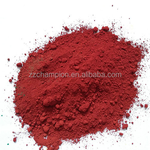 colour powder iron oxide red fe2o3 y101 with factory price