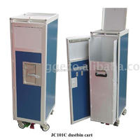 Aviation Inflight Waste Cart Waste Collection