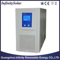 Solar Hybrid Inverter, LED and LCD Display Design Optional, Wide Input Voltage Range, with Controller