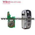 WB07 3 button remote key with NB-ETT-GM Model for KD900 machine