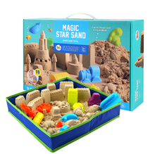 2019 Hot Selling DIY Toys Modeling Sand Toys Play Sand Set for <strong>Kids</strong>