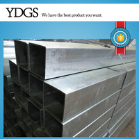 Galvanized Steel Square Tube for structural projects Trailers Frames Shelves Racks Ornamental