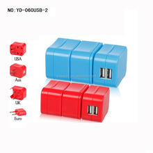 Best Factory Direct Sales Excellent Quality Hot Design Competitive Price Universal Travel Adapter With Usb Port
