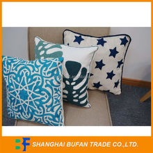 Factory made new design pillow cover square back cushion