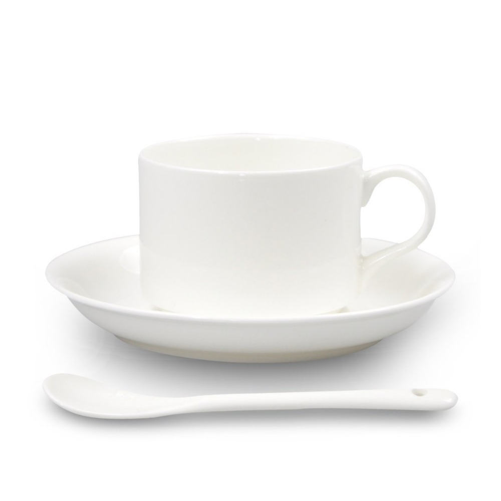 new products high quality custom 180ml Bone China coffee cups and saucers for gift