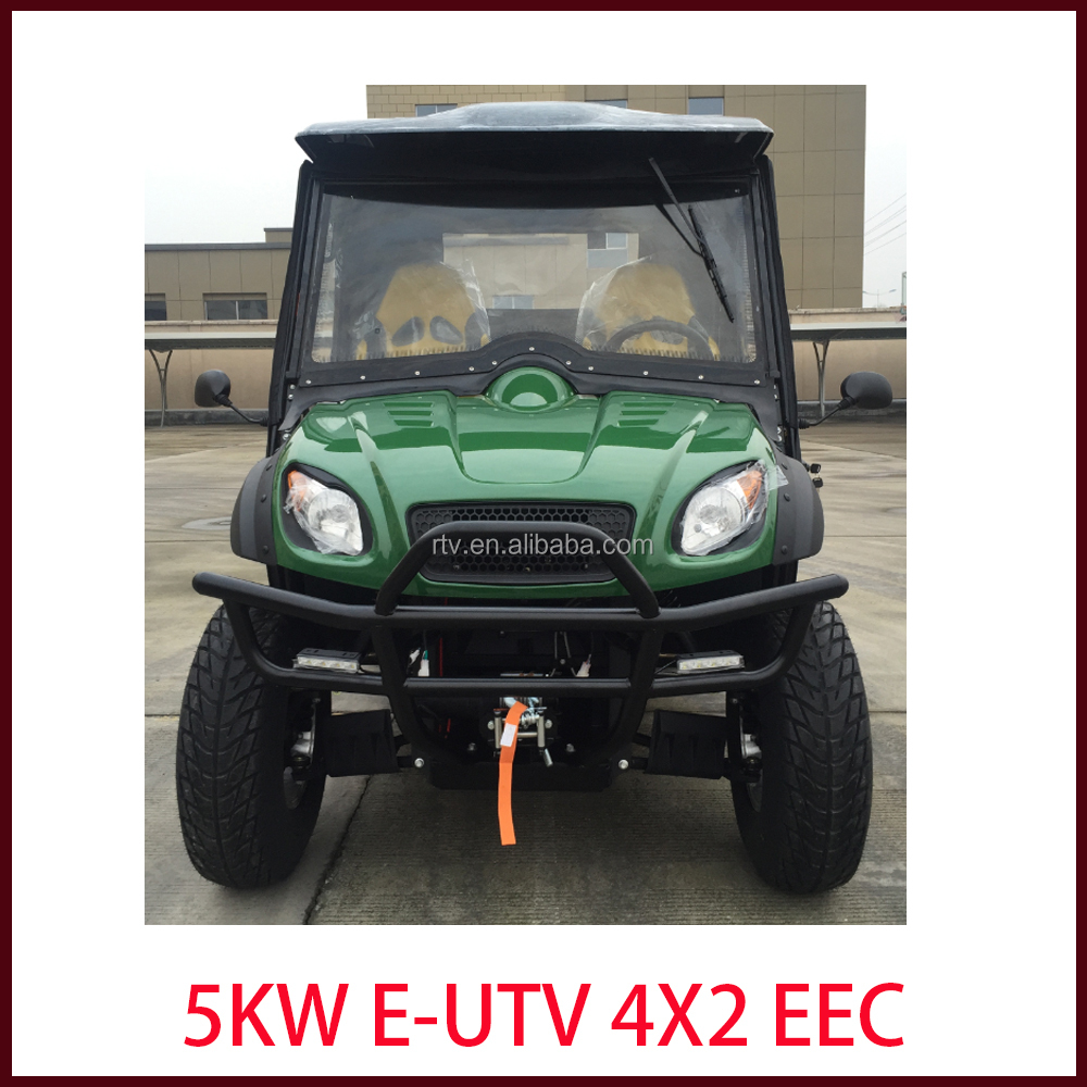 EEC Approved Electric utv 4x4 side by side